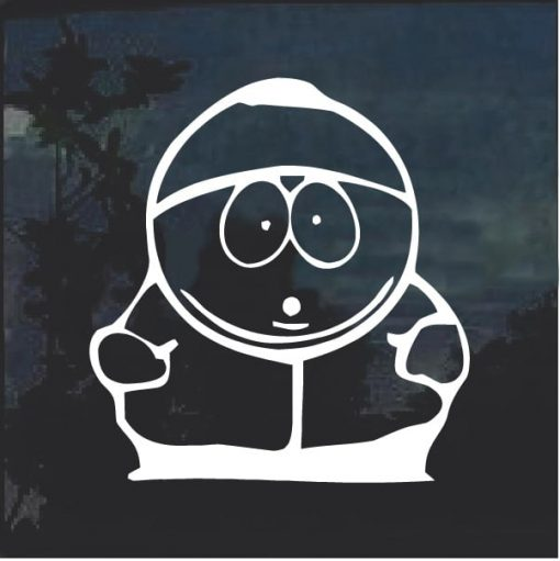 Cartman Window Decal Sticker