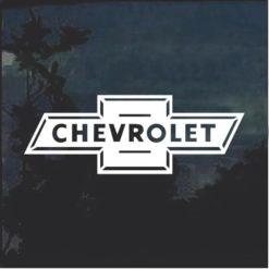 Chevy Bowtie Classic Window Decal Sticker