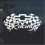 Chevy Racing 3 Window Decal Sticker