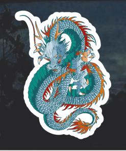 Chinese Dragon Window Decal Sticker