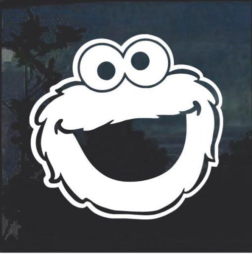 Cookie Monster Window Decal Sticker