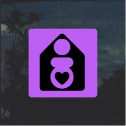 Crunchy Mom Home Birth Decal Sticker