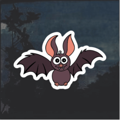 Cute Bat Window Decal Sticker