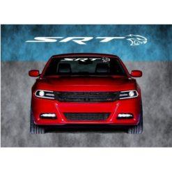 Dodger Charger SRT Hellcat Windshield Banner Decal Sticker