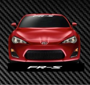 FRS Scion Windshield Banner Decal Sticker