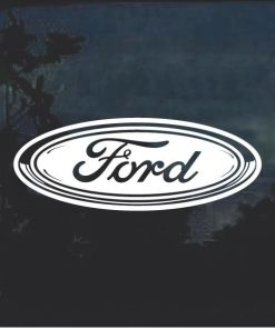 Ford Oval 2 Window Decal Sticker