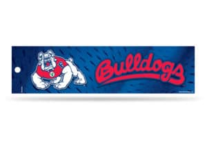 Fresno State Bulldogs Bumper Sticker Officially Licensed