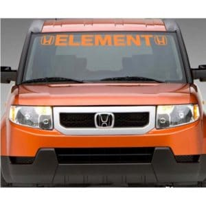 Honda Element Windshield Banner Decal Sticker