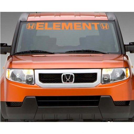 Honda Element Windshield Banner Decal Sticker