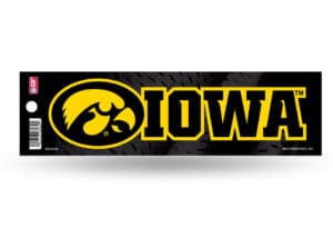 Iowa Hawkeyes Bumper Sticker Officially Licensed