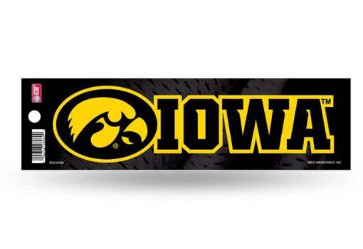 Iowa Hawkeyes Bumper Sticker Officially Licensed