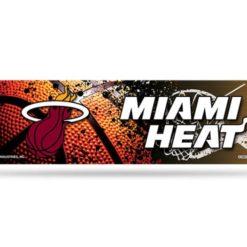 Miami Heat Bumper Sticker NBA Officially Licensed
