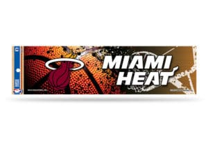 Miami Heat Bumper Sticker NBA Officially Licensed