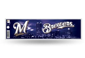 Milwaukee Brewers Bumper Sticker Officially Licensed MLB