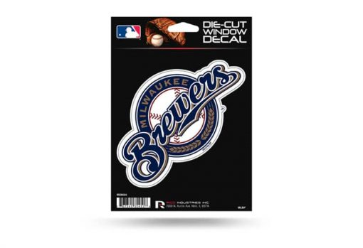 Milwaukee Brewers Window Decal Sticker Officially Licensed MLB