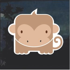 Monkey Emoji Decal Sticker