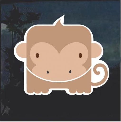 Monkey Emoji Decal Sticker