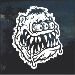 Monster Head Ratfink 2 Window Decal Sticker