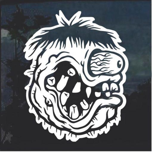 Monster Head Ratfink 5 Window Decal Sticker