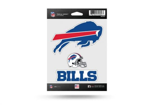NFL Football Buffalo Bills Window Decal Sticker Set Officially Licensed