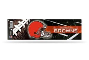 NFL Football Cleveland Browns Bumper Sticker Officially Licensed