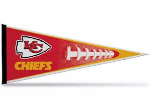 NFL Football Kansas City Chiefs Pennant Large 12 x 30 Officially Licensed