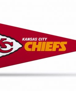 NFL Football Kansas City Chiefs Pennant small 4 x 9 Officially License