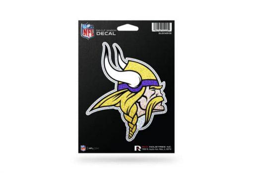 NFL Football Minnesota Vikings BLING Decal Sticker Officially Licensed