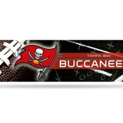 NFL Football Tampa Bay Buccaneers Bumper Sticker Officially Licensed