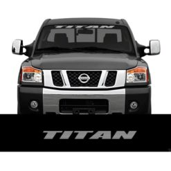 Nissan Titan Windshield Banner Decal Sticker a3