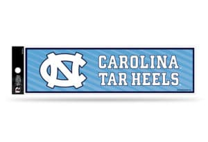 North Carolina Tar Heels Bumper Sticker Officially Licensed
