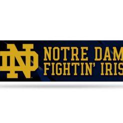 Notre Dame Fighting Irish Bumper Sticker Officially Licensed