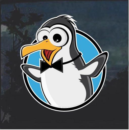 Penguin Decal Sticker