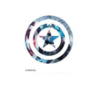 Captain America Shield II Marvel Comics Licensed laptop Sticker