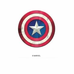 Captain America Shield III Marvel Comics Licensed laptop Sticker