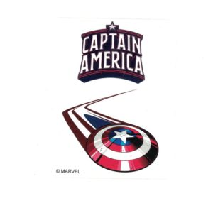 Captain America Shield 1 Marvel Comics Licensed laptop Sticker