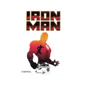 Iron Man II Marvel Comics Licensed laptop Sticker