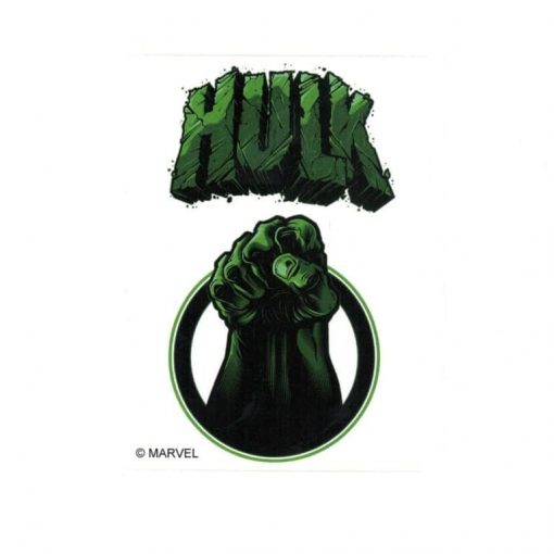 Hulk Fist II Marvel Comics Licensed laptop Sticker