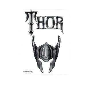 Thor Helmet Marvel Comics Licensed laptop Sticker