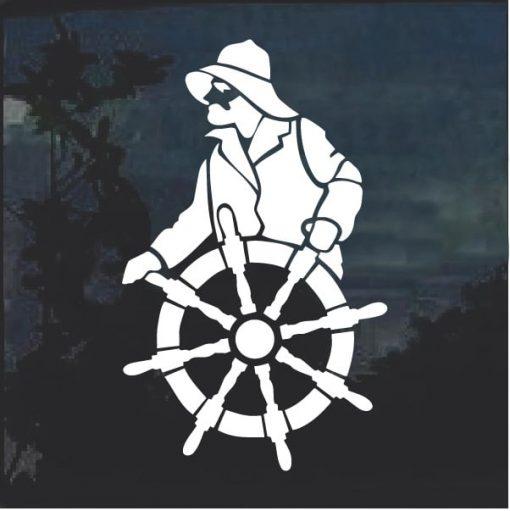 Ship Captain Decal Sticker