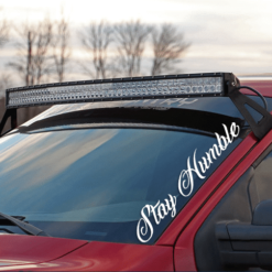 Stay Humble Windshield Banner Decal Sticker