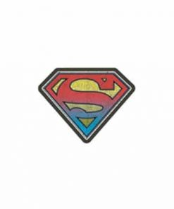Superman Cracked stone Laptop Locker Phone Sticker Officially Licensed
