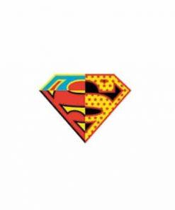 Superman Retro Shield Laptop Locker Phone Sticker Officially Licensed