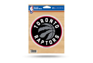 Toronto Raptors Window Decal Sticker Officially Licensed