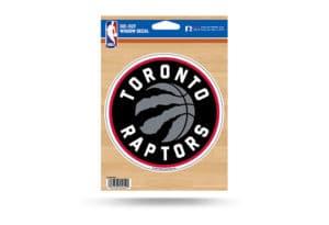 Toronto Raptors Window Decal Sticker Officially Licensed