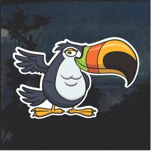 Toucan Decal Sticker