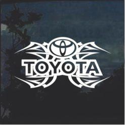Toyota Tribal v2 Window Decal Sticker