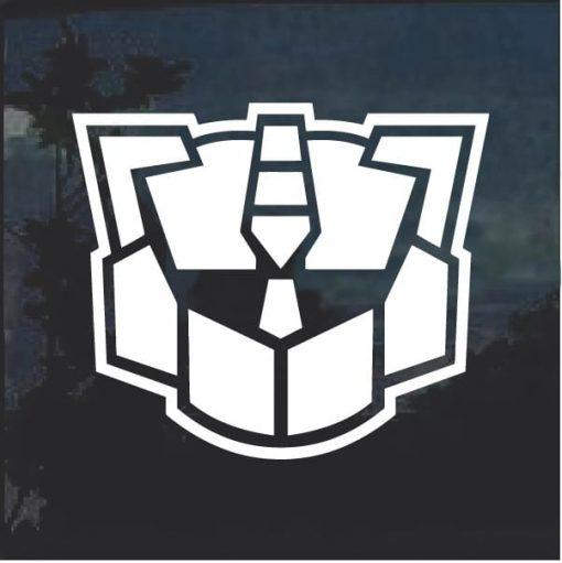 Transformers Autobot Generation 2 Window Decal Sticker