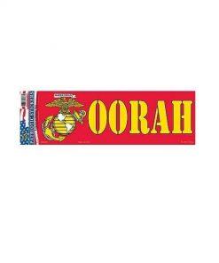USMC Marines OORAH EGA 3x10 Full Color Window Decal Sticker Licensed