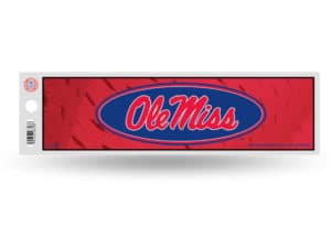 University of Mississippi Ole Miss Bumper Sticker Officially Licensed